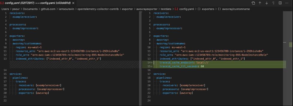 Exporter Configuration