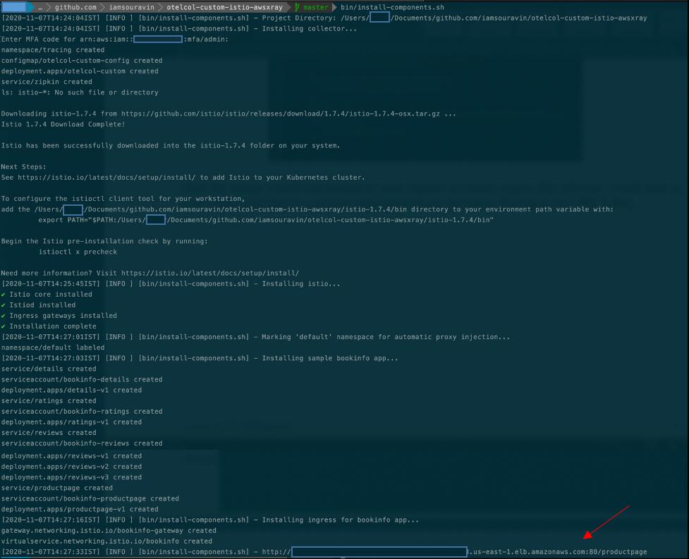 Launch install script